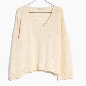 Madewell Breezeway Pullover Sweater   size S